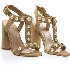 Shoes - Heels with Pearls